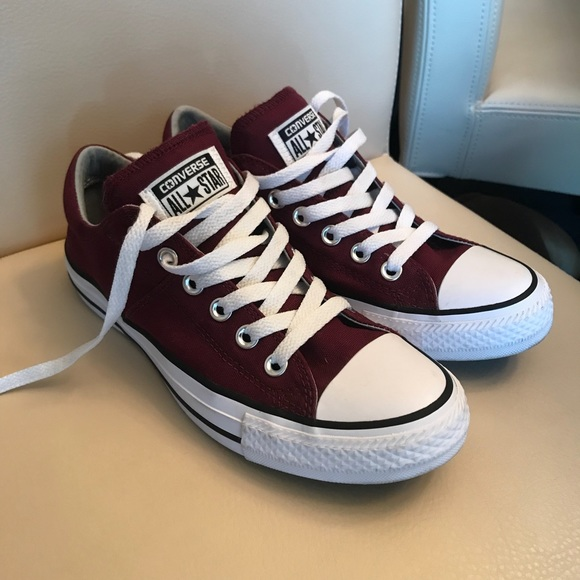 Materialismo Estúpido Agencia de viajes  Converse Shoes | Converse Womens All Star In Burgundy New Size 7 | Poshmark